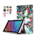 Печатные смарт-чехол фолио стенд обложка Для Huawei MediaPad M2 M2-801W M2-803L Huawei M2 8.0 tablet чехол + экран протектор