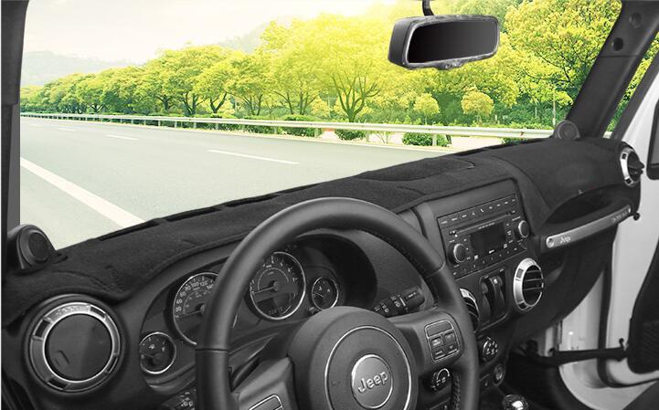 Dashmats car-styling accesorios cubierta del tablero de instrumentos - Accesorios de interior de coche