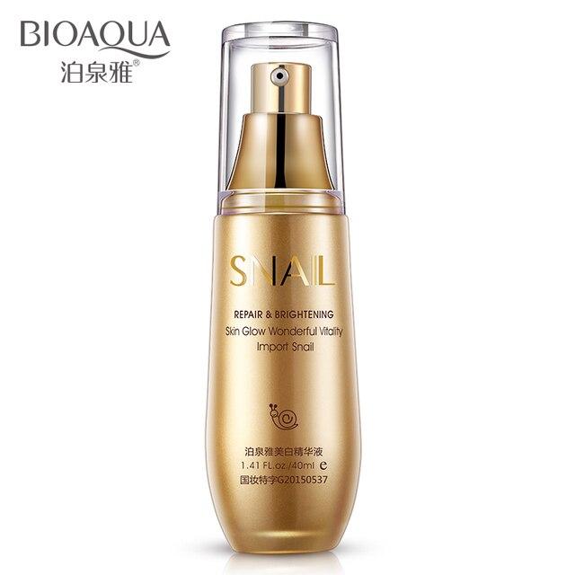 Bioaqua уход за кожей улитка отбеливающая сущность гиалуроновая кислота жидкость против морщин против старения коллаген увлажняющий крем масло