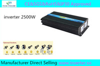 Power Inverter 24v 220v 2500w ,one year warranty ,CE&sGS&RoHS&IP30 Approved