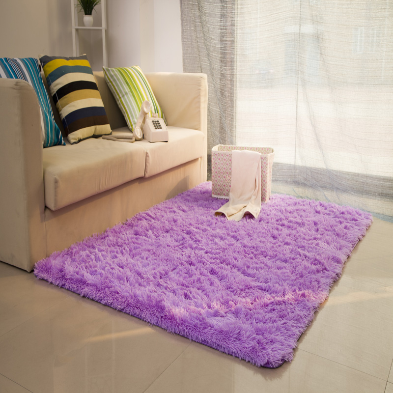 Unikea 100*160 cm/39.37 * 62.99in tapis shaggy et tapis pour la maison salon lavage mécanique grands tapis de salon