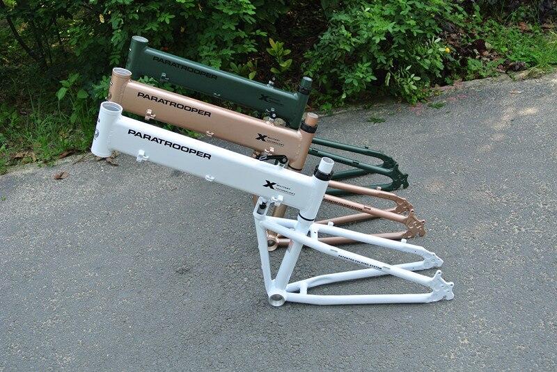 26 Inch MTB BMX Folding Frame Folding Mountain Bike Portable Frames