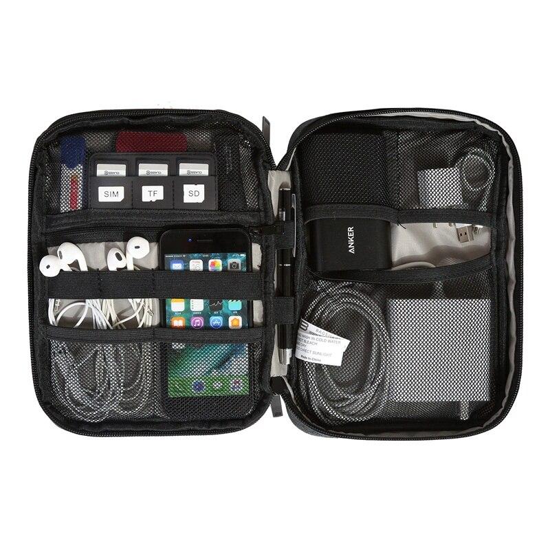 digital dispositivo bolsa de acessórios Material Principal : Nylon