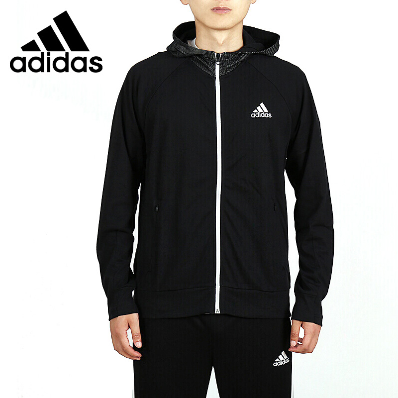 Original New Arrival 2018 Adidas M S2S LFSTY HDY Men's jacket Hooded Sportswear цена