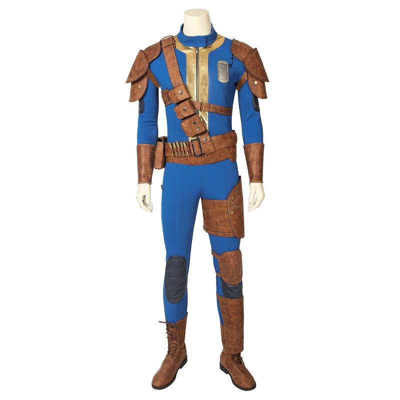 Game Fallout 4 Fallout 76 Costume Vault 76 Sole Survivor Deacon Cospaly Jumpsuit Uniform Halloween Outfit Full Set Custom Made