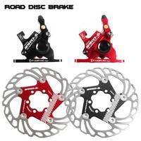 PRO R1 Hybrid Hydraulische Straße Disc Bremse Set Kabel Disc Dual Seite Betätigung Reise/CX Fahrrad Sattel 140mm Rotor Post Adap