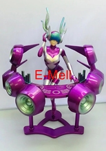 LOL Cosplay 22cm/8.7 Sona Buvelle DJ Maven of the Strings PVC GK Garage Kits Action Figures Toys Model