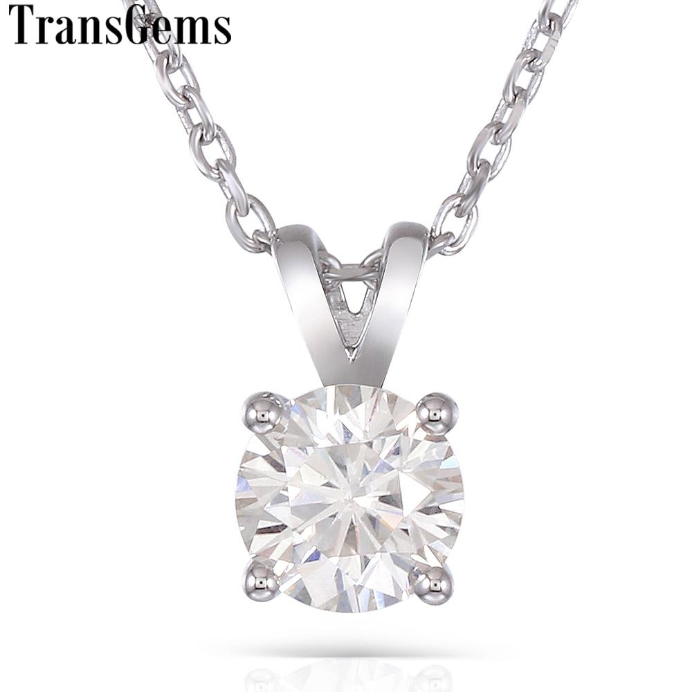 diamond silver necklace (4