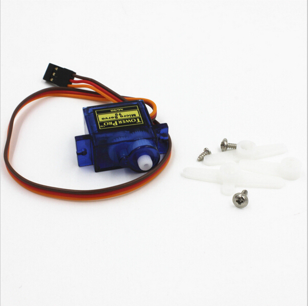 Hot sale TowerPro SG90 9G Micro Small Servo Motor RC Robot Helicopter Airplane Controls D3-003