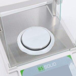Image 2 - 米国固体 200 × 0.0001 グラム 0.1mg ラボ分析バランスデジタル電子精密体重計 ce 認定タッチスクリーン