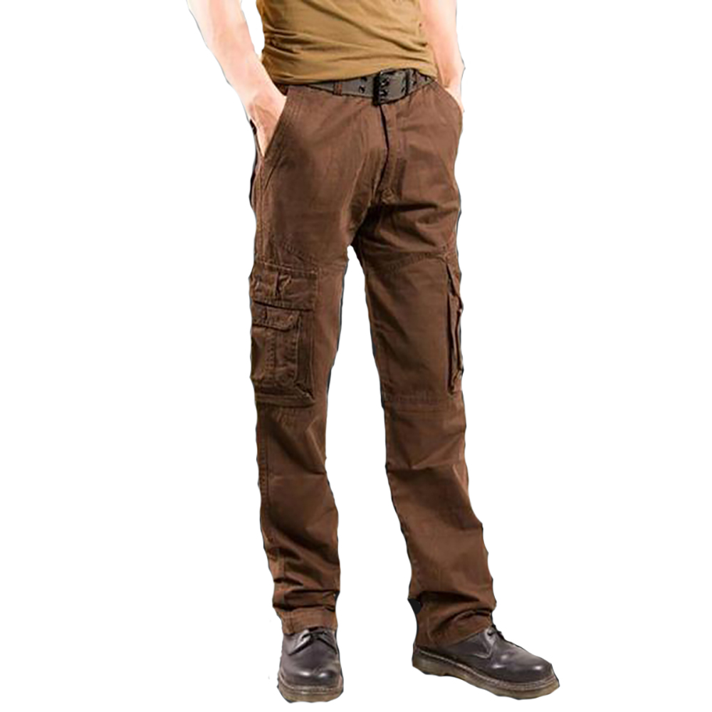 Army Cargo Pants Working Trousers Clothes For Mens Military Tactical Pants Washing Cotton Workman Overalls Sweatpants