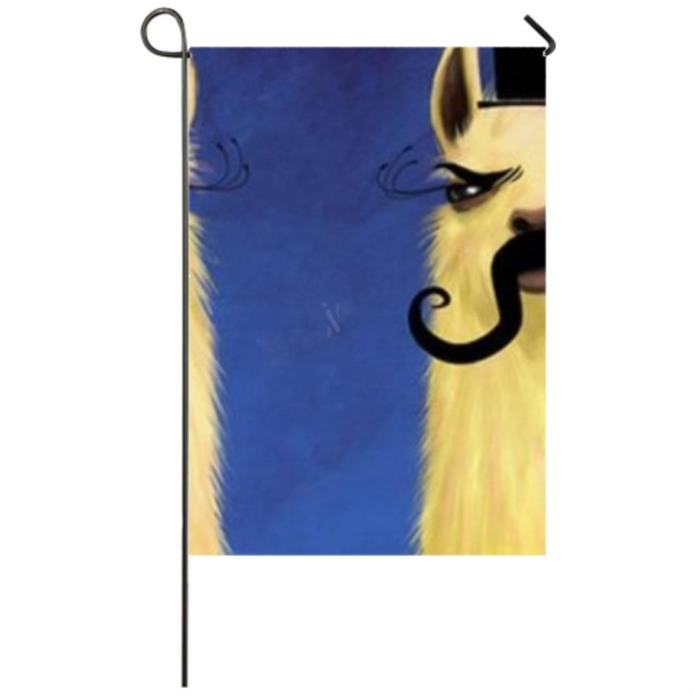 Pets Llama Garden flag Seasonal Flags for Outdoors Garden Decor Flags in Flags Banners Accessories from Home Garden