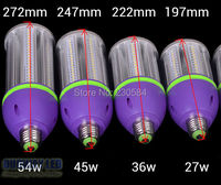 Very Good Quality Bulb 27w 36w 45w 54w Bombillas Led E27 E40 Patent Led Corn Lamp