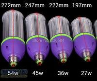 Molto buona qualità lampadina 27 w 36 w 45 w 54 w bombillas led E27 E40 led del cereale della luce verniciata estremamente heavy duty in costruzione
