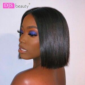 Короткие парики из натуральных волос на кружеве, парик из натуральных бразильских волос remy, парик из натуральных волос для черных женщин, бе...