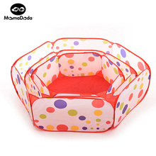 1m 1.2m 1.5m Baby Play Tent Kids Dot Hexagon Indoor & Outdoor Game Plastic Playpen Baby Play House Yard Educational Toys