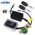 ADPOW Universal Drahtlose Fernbedienung 12 v Auto Batterie Trennen Cut Off Isolator Master Schalter Voltmeter Display + Handschuhe