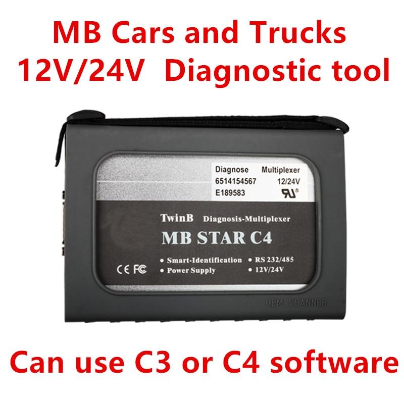 Цена за 2016 новый рентабельный звезда C4 для обоих автомобилей и грузовики для использования как C3 или с4 программного обеспечения ( без жесткого диска / программное обеспечение ) бесплатная доставка
