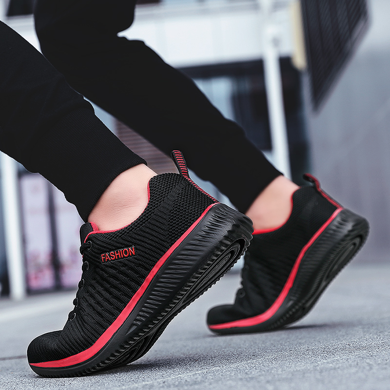 2019 Summer Men Casual Shoes Flat Men Shoes Lightweight Comfortable Breathable Mesh Mens Walking Sneakers Tenis Feminino Zapatos(China)