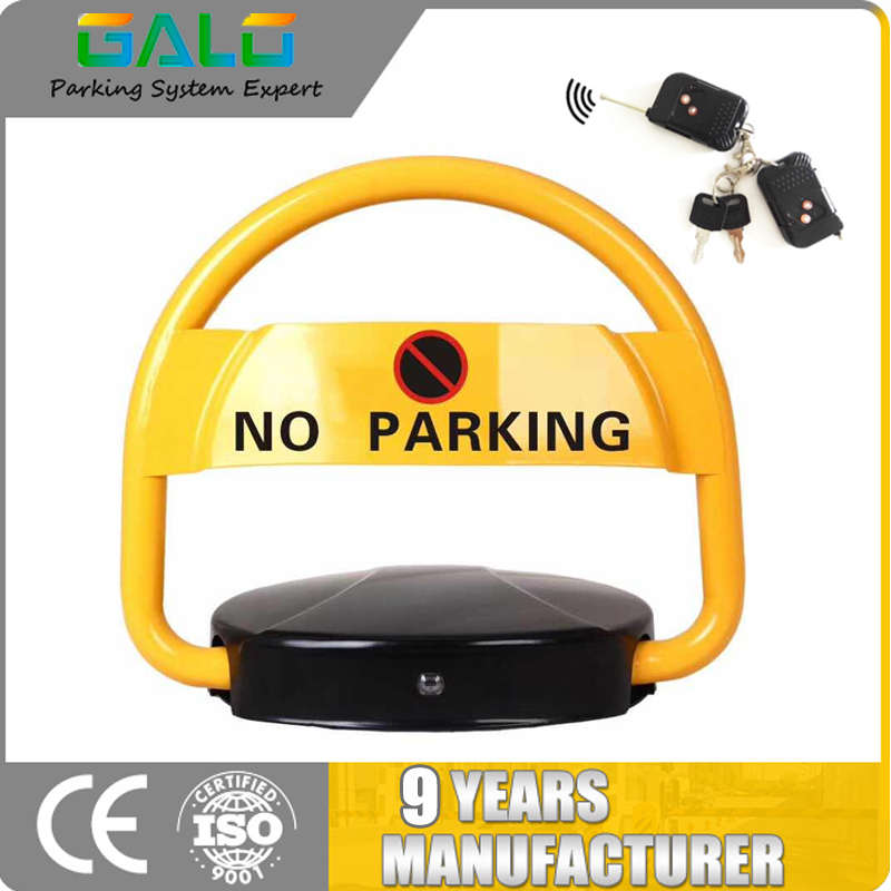 Popular Automatic Remote Control Car Parking Lock Semicircular Shape