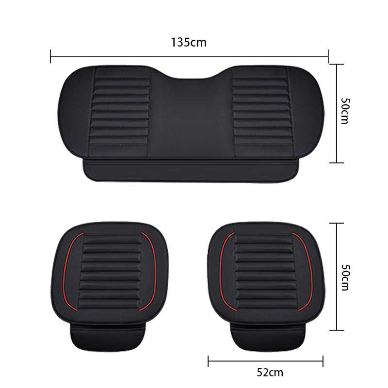 PU skóra do fotela wewnętrzego pokrowce na siedzenia samochodowe ochraniacze maty uniwersalne siedzenia samochodowe poduszka skórzana pokrywa akcesoria na klapę