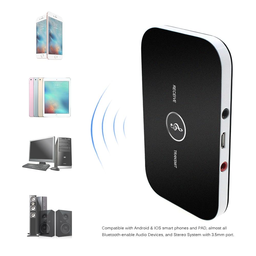 home car bluetooth transmitter receiver stereo audio car. Black Bedroom Furniture Sets. Home Design Ideas
