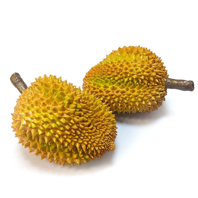 PVC Simulation Durian Artware Fruit Ornaments Cute Durian Figurines Home Decor Luxury Dragon Fruit Free Shipping