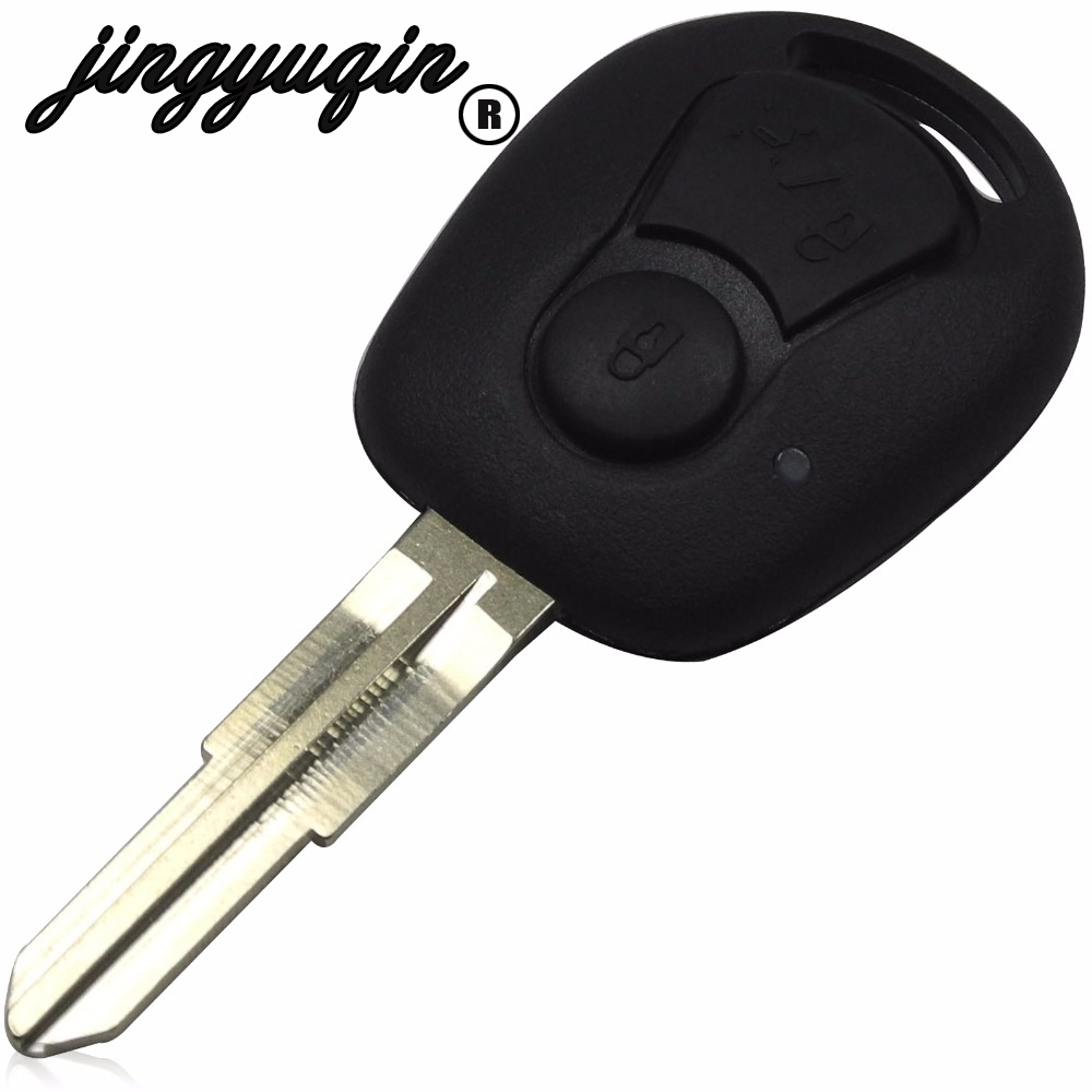 Fits Ssangyong Actyon Kyron Rexton 3 button REMOTE Key Fob Case new blade