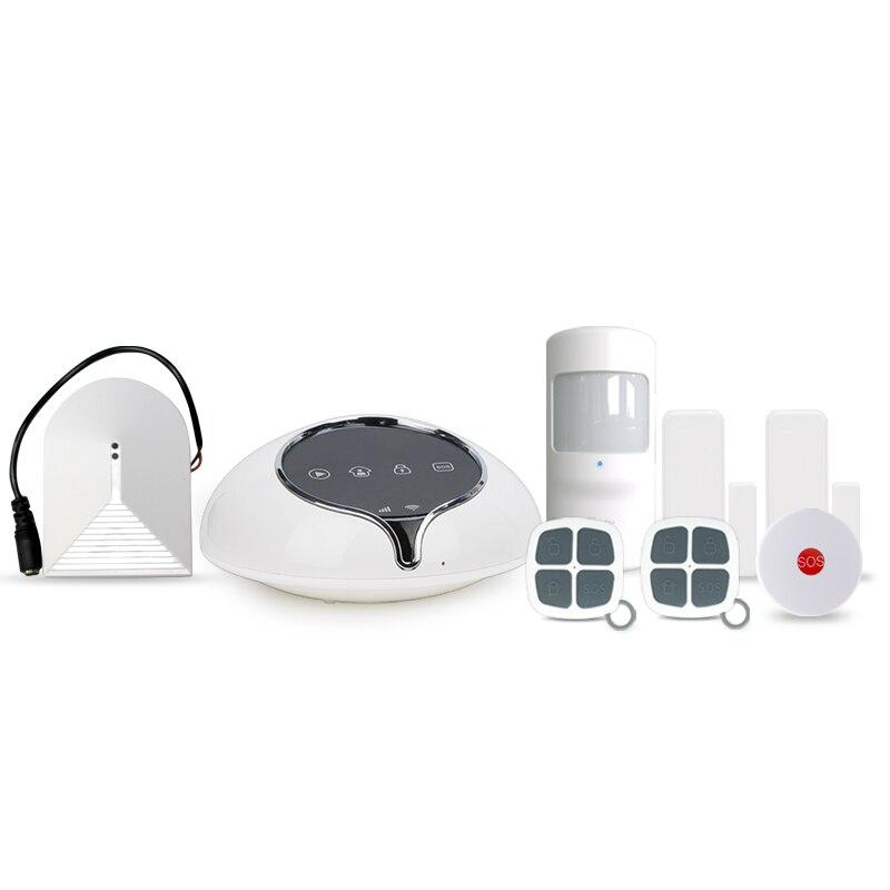 App control 3G burglar alarm system home security alarm system Golden Security alarm system work with wireless glass break senor newest 3g home security alarm system