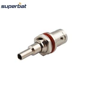 Superbat 10 шт. 75 Ом BNC обжимной разъем гнездо уплотнительное кольцо РЧ коаксиальный разъем для кабеля RG179,RG174,RG316,LMR100