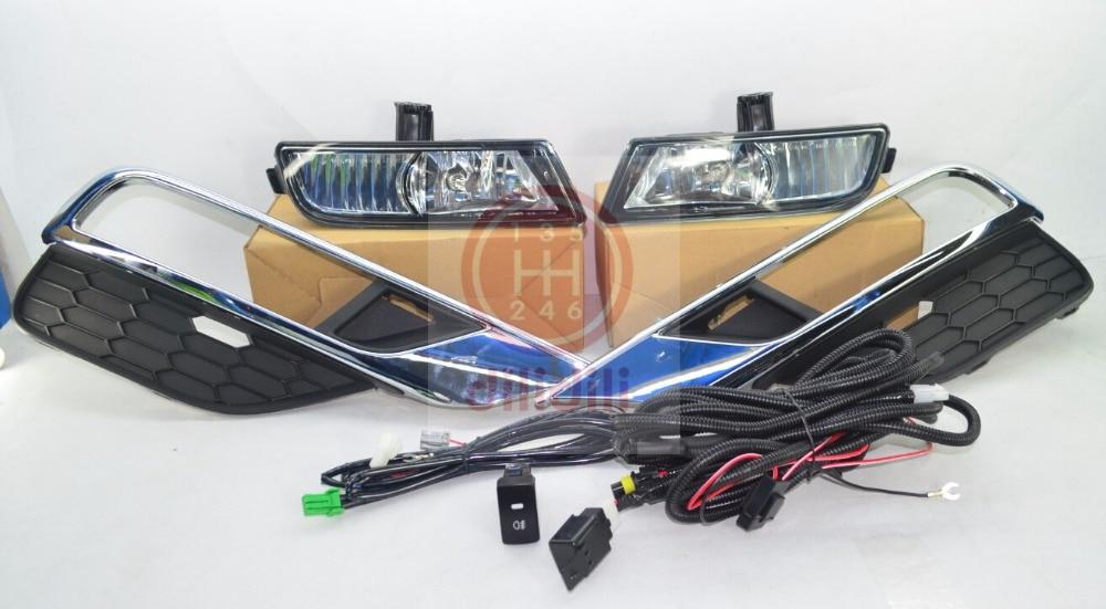 Противотуманные фары лампы Комплект для Хонда CRV СГ-V 2014-2016
