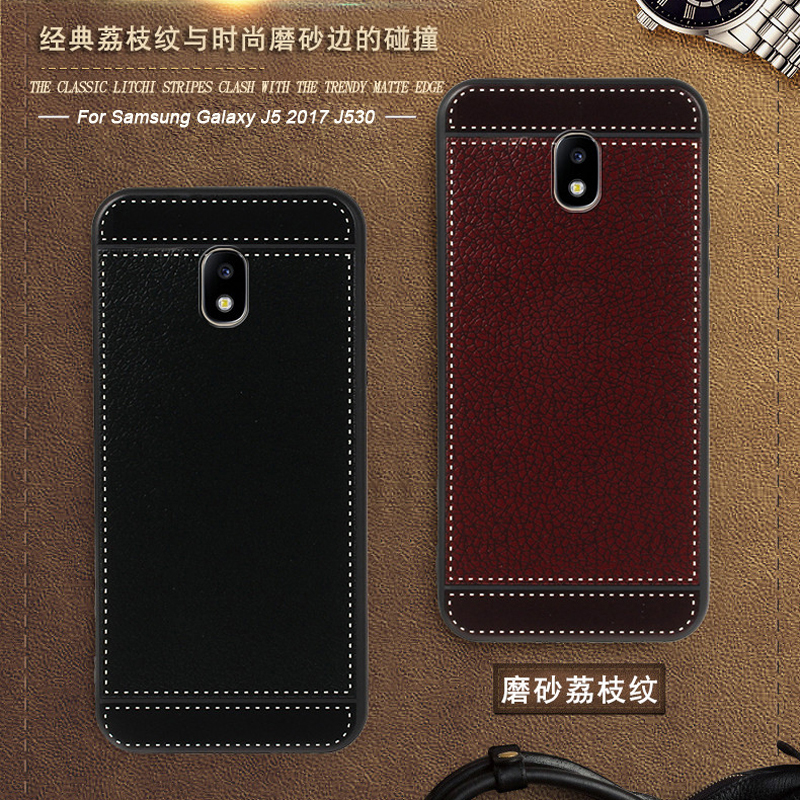 Cover for <font><b>Samsung</b></font> galaxy J5 2017 J530 SM-J530G/<font><b>DS</b></font> <font><b>J530F</b></font>/<font><b>DS</b></font> Case leather Soft silicone for <font><b>Samsung</b></font> J5 2017 SM-J530FM/<font><b>DS</b></font> J530YM/<font><b>DS</b></font> image
