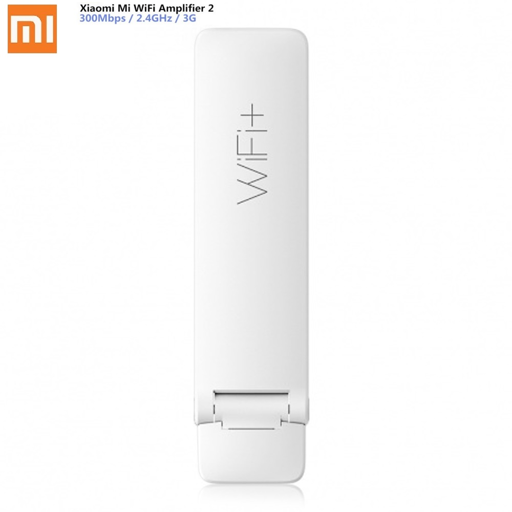 Original Xiaomi WiFi Repeater Extender Amplifier English Version 300M 2 Expander Portable Light Weight Repetidor Wifi Mi Router цена и фото