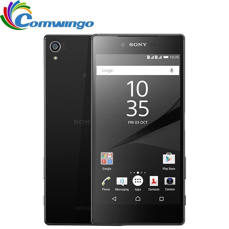 Фото. Оригинальный sony Xperia Z5 Премиум E6853 одной сим разблокированный gsm 4G LTE Android Восьмиядерны