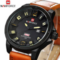 2016 Naviforce men Watches Top Brand Luxury Men Military Wrist Watches Leather Men Sports Watch Waterproof Relogio Masculino