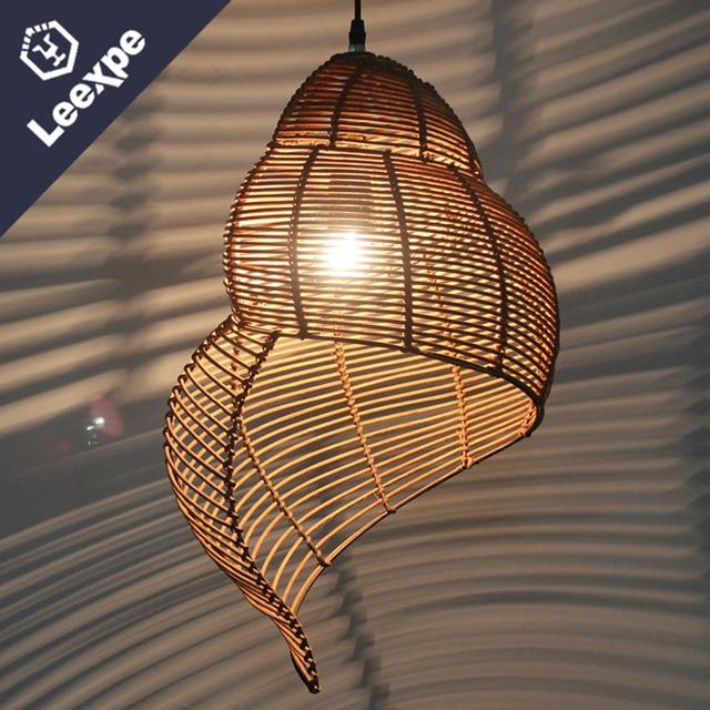 rotan kroonluchters slak bamboe en bamboe kroonluchters interieur lampen restaurant verlichting rotan kroonluchters