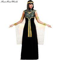 Halloween Costume Sexy Egyptian Cleopatra Costume Ladies Cleopatra Roman Toga Robe Greek Goddess Cosplay Dress