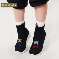 Balabala Da Zao Tian Gong обувь для мальчиков и девочек новая детская спортивная обувь большой мальчик новый год