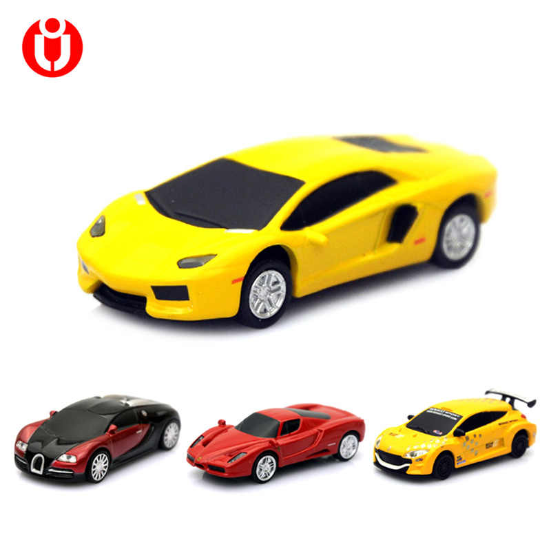 Hot Jual Asli 8 GB 16 GB 32G USB Flash Drive Pen Drive Stick Racing Model model Mobil Drive 32 GB, Jempol/Mobil/