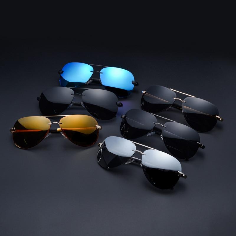 52e7f9299159d CIVICHIC Classic Man Al-Mg Polarized Sunglasses Frog Mirror Coat ...