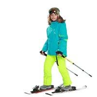 Детский лыжный костюм Детская Подпушка Комбинезоны для малышек с натуральной Мех животных капюшон Теплый Обувь для мальчиков Обувь для дев