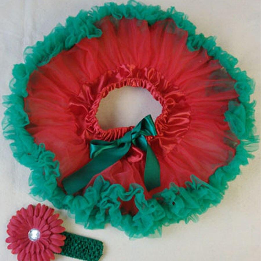Butu одежда для малышей крещение новорожденного petti юбка повязка на голову цветные балетные пачки наборы детские фото реквизит - Цвет: Красный