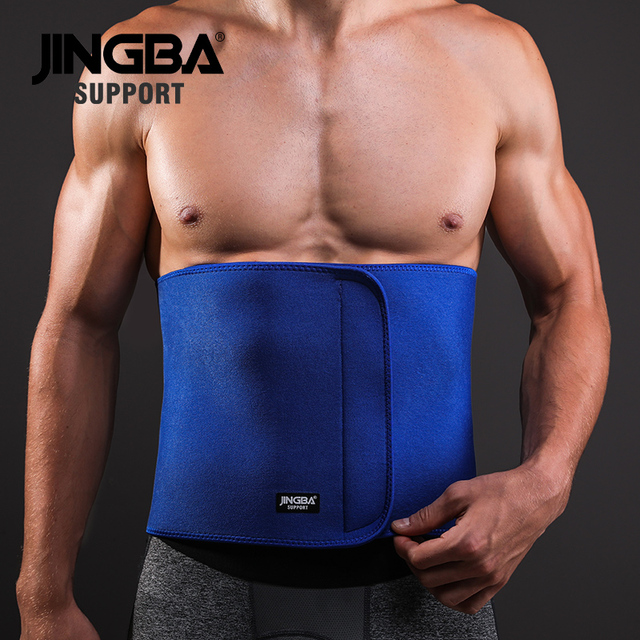 JINGBA SUPPORT fitness belt Back waist support sweat belt waist trainer waist trimmer musculation abdominale Sports Safety