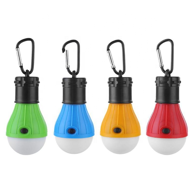 Mini Portable Camping Tent Light Emergency Lantern LED Bulb Waterproof Hanging Hook 4 Color 3 Mode Camping Garden Energy Save