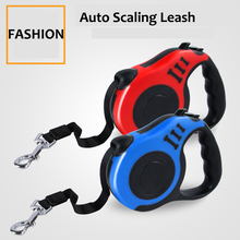 Retractable Dog Leash Automatic Flexible 3M/5M Puppy Cat Traction Rope Belt for Small Medium Dogs Pet Products