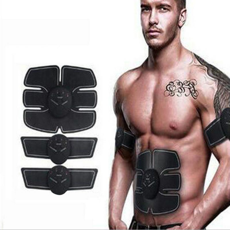 Training Gear Device Muscle Stimulator Body Arm Electric Weight Loss Massager Patch 2017 hot sale mini electric massager digital pulse therapy muscle full body massager silver