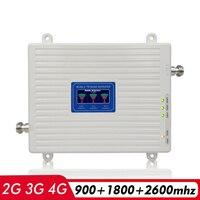 음성 + 2g 3g 4g 네트워크 트라이 밴드 신호 증폭기 gsm 900 mhz + dcs lte 1800 (b3) + fdd lte 2600 (b7) 휴대 전화 신호 부스터 리피터