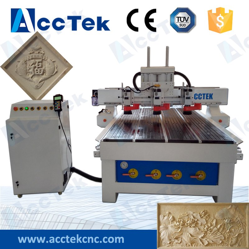 Wooden Cabinet Making Cnc Cutter Wood/mdf/plywood Carving Router 1325 Wood Profile Machine Cnc