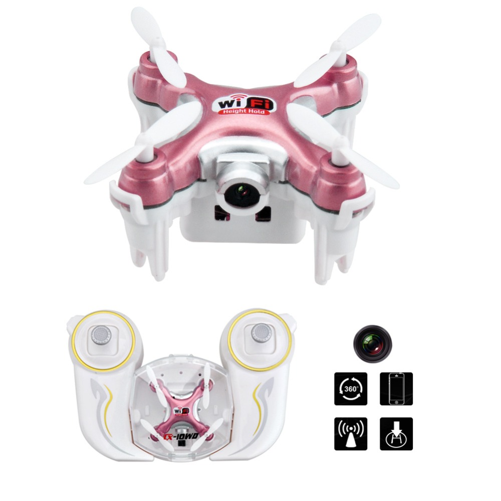 Foldable Drone 2.4 GHz 3D Flip WIFI Portable Quadcopter with FPV HD Camera Quadcopter Headless Mini Pocket Helicopter Drone