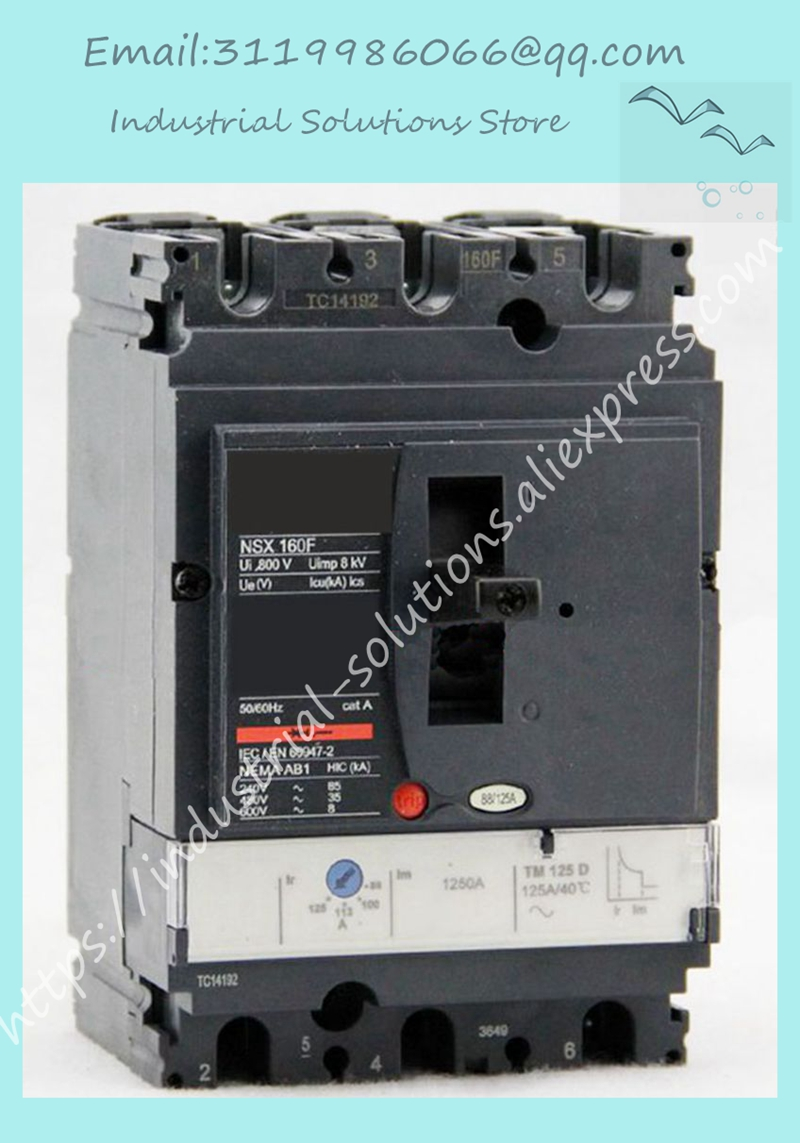 Plastic case circuit breaker NSX100N 3P 25A TM25D LV429846 StationaryPlastic case circuit breaker NSX100N 3P 25A TM25D LV429846 Stationary